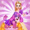 可爱的公主小狗护理