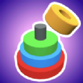 彩色圆圈3D