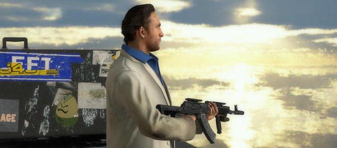 求生之路2圣榮耀勛章戰士步槍mod