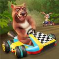 动物卡丁车赛车