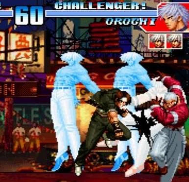 拳皇2000冰蓝版