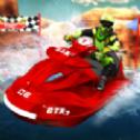 喷气滑雪水上赛车