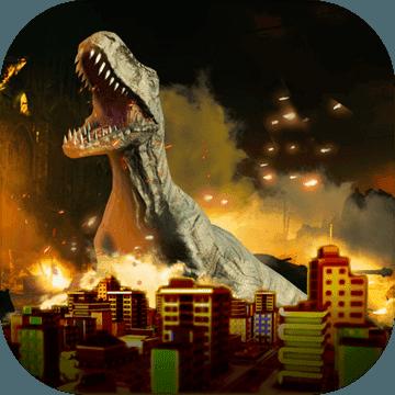 恐龍破壞城市破解版