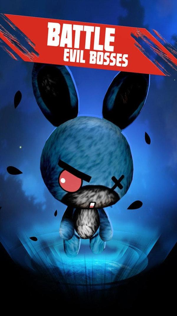 暴打邪恶兔子人