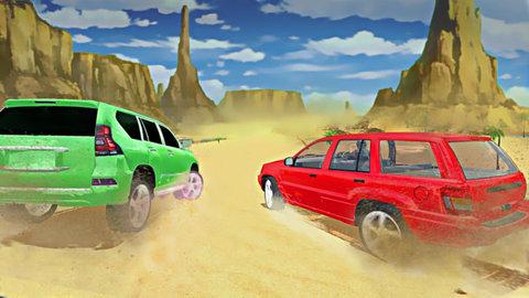怪物沙漠卡车