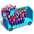 上班挤公交