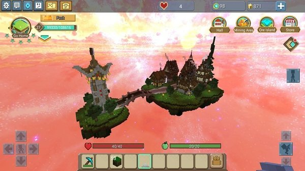 空岛生存破解版游戏截图