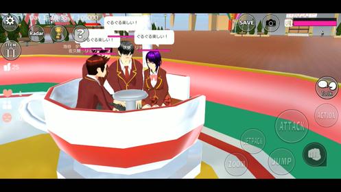 樱花学校模拟器游戏截图
