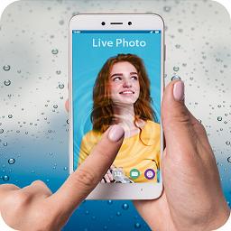 在水中的照片手机壁纸