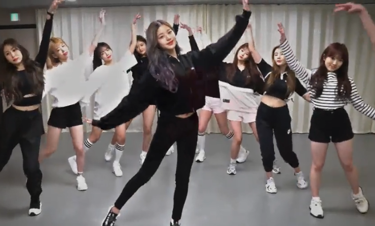 IZONE - Violeta 练习室- 舞蹈视频