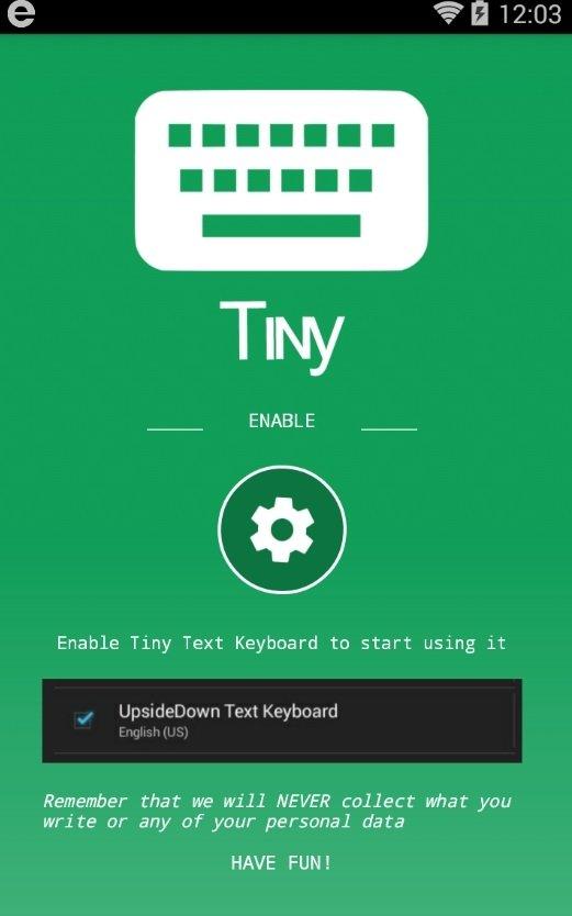 小字體鍵盤輸入法