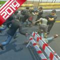 僵尸与人类战斗模拟器