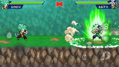 龍珠格斗傳奇戰斗