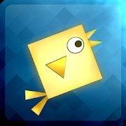 几何方块鸟