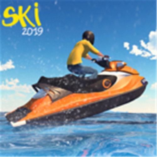 喷气滑雪比赛游戏
