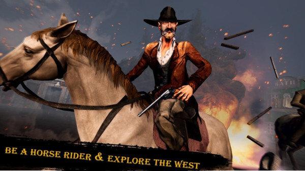 西部枪战牛仔冒险