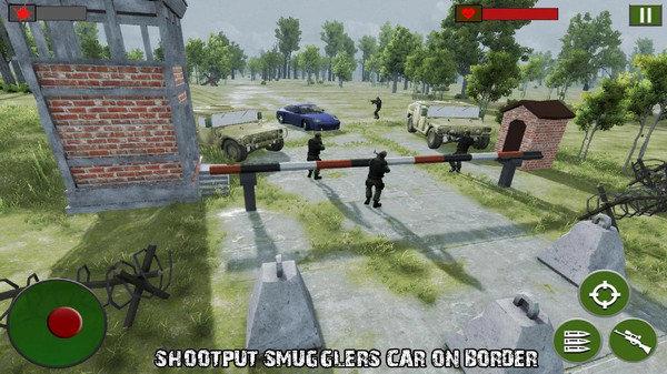 边境狙击战