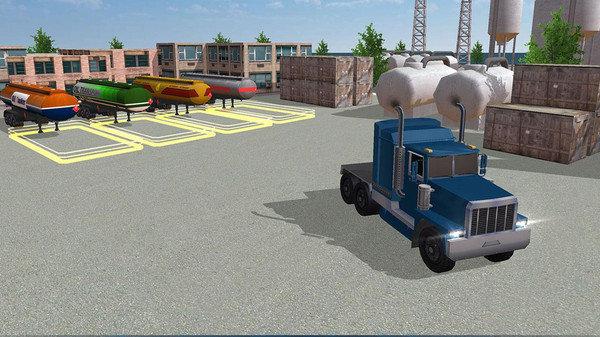 油罐車駕駛模擬