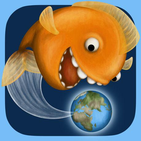 鲨鱼吃地球