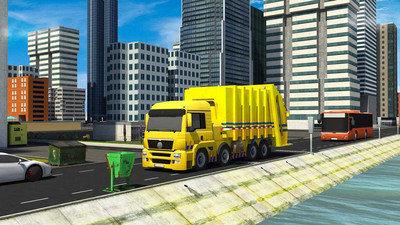 垃圾车驾驶垃圾分类安卓版