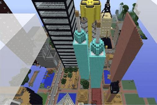 我的世界大都市地图