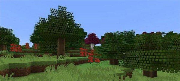 我的世界童话林地材质包