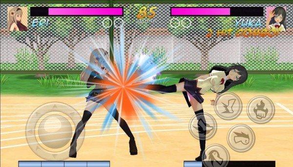 高中女生格斗模拟器完整版