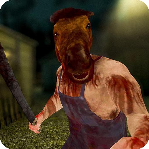 恐怖馬頭人