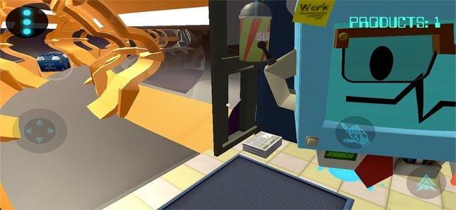 空间中的工作模拟器