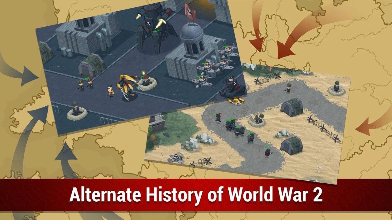 第二次世界大戰:聯合組織TD修改版