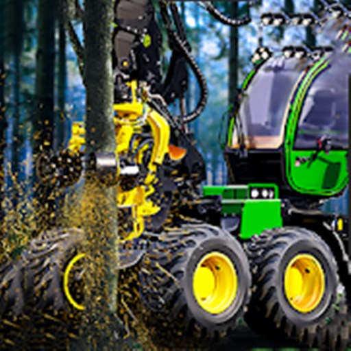 模擬伐木機