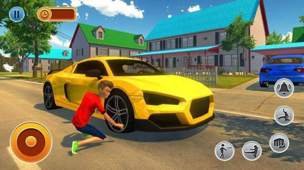 虛擬鄰居男孩家庭游戲