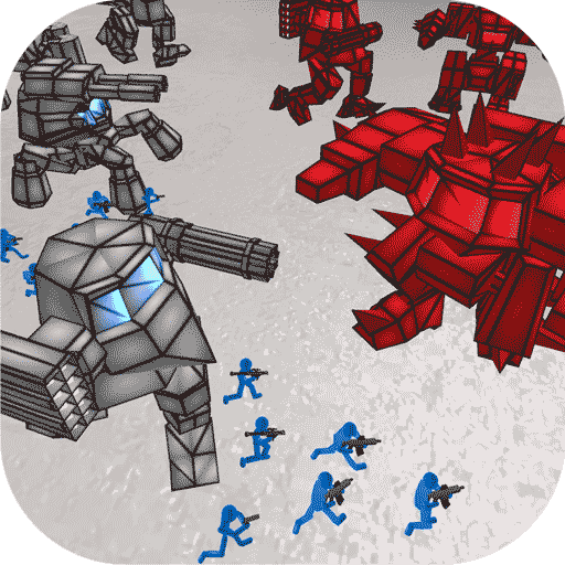 火柴人大戰機器人破解版