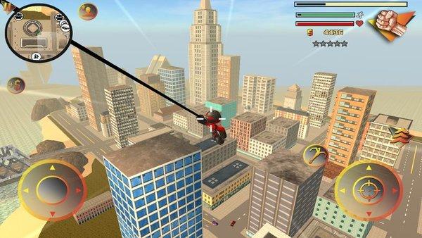 城市蜘蛛侠英雄3d截图