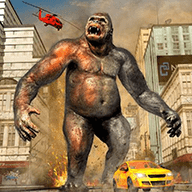 模擬憤怒大猩猩
