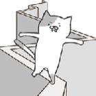 猫咪走难路