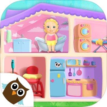 甜美小女孩玩偶之家