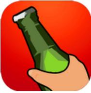 喝啤酒抢瓶子