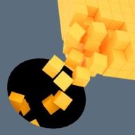 黑洞粘方塊
