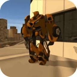 英雄战争变形机器人