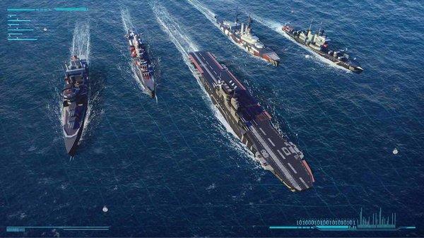 海岸线:战舰养成计划游戏截图
