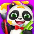 照顾熊猫宝宝