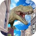 恐龍破壞城市