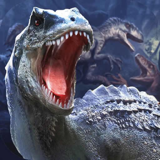 擁擠恐龍世界