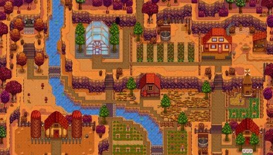 星露谷物语扩展的山顶农场
