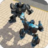 機器人城市戰斗游戲