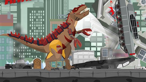 史前恐龙破坏