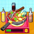制作泰國料理廚房做飯