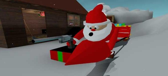 圣诞杀戮大逃杀