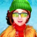 冬季时装秀明星女孩